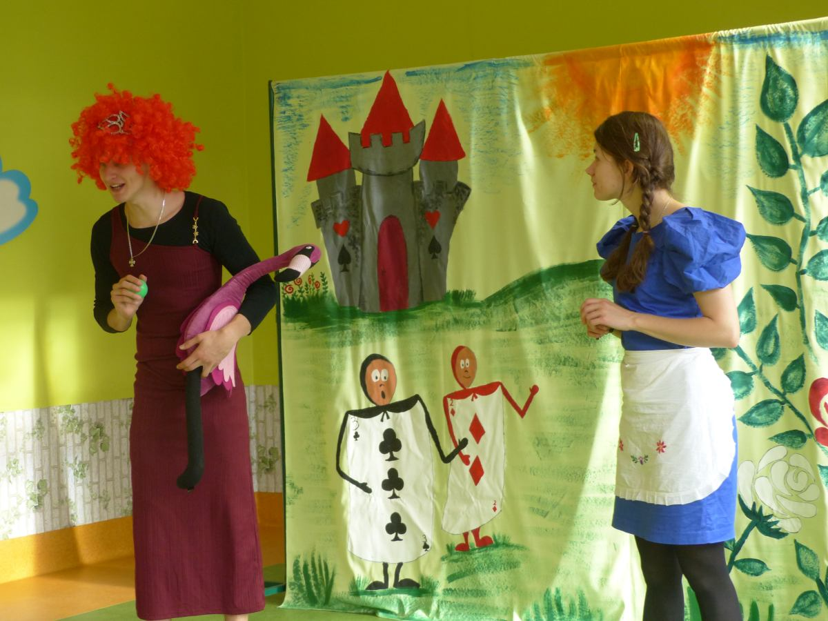 Przeglądasz zdjęcia z artykułu: Alicja w krainie czarów
