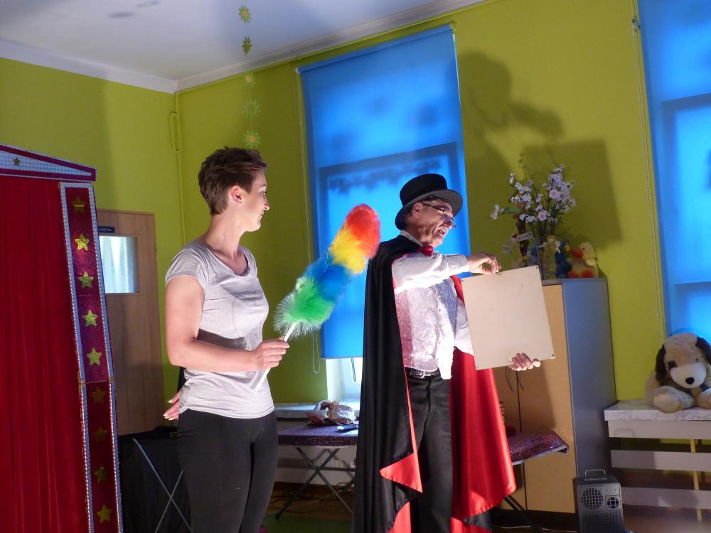 Przeglądasz zdjęcia z artykułu: Spotkanie z cyrkiem